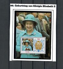 TUVALU BRITISH COLONIES MNH QUEEN SHEET  & SPORTS SET 2 SCANS LOT (BRCOL 294)