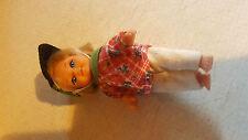 Vintage Retro Simba Muñeca altura de 4.5 in (approx. 11.43 cm) totalmente vestido en atuendo Original