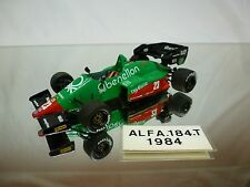 TAMEO - ALFA ROMEO 184 T  KIT (built) - E.CHEEVER  F1 1:43 - NICE CONDITION