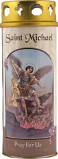 SAINT MICHAEL THE ARCHANGEL DEVOTIONAL HOLY CANDLE - STATUES & PICTURES LISTED