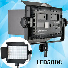 Godox LED500C LED Studio Video Light Photography Continuous Lighting + Remote