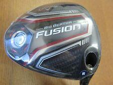 NEW Callaway Golf BIG BERTHA FUSION 10.5 Driver RECOIL Graphite Regular Flex