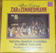Albert Lortzing Zar Und Zimmermann LP Vinyl Schallplatte 139084