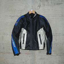 DAINESE - HAKU SAN LEATHER JACKET - SIZE 46 - BLUE-MET - 1533524