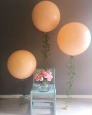 "Blush Balloons Wedding Bride Engaged Latex 36"" Large Baby Shower Decor Qualatex"