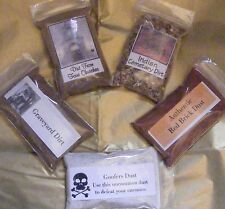 RITUAL DIRT / SOIL COLLECTION- Wicca, Santeria, Gothic