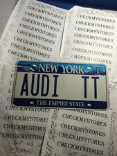 # AUDI TT CAR PLATE EXCELLENT CONDITION ONE(1) 5 YEARS OLD