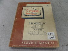 CESSNA MODELS' 411 AND 411A SERVICE MANUAL DECEMBER 1966 CHANGED AUGUST 1967