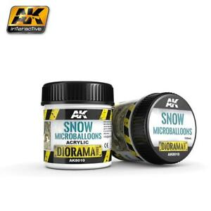 AK TEXTURE PRODUCTS SNOW MICROBALLOONS - 100ml