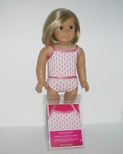 """AMERICAN GIRL TANK TOP/ BRIEFS - NEW - FOR 18"""" DOLLS"""