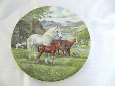 Bradex Davenport 'Welsh Mountain Ponies' Plate - Limited Edition - 1990