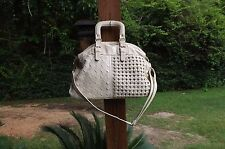 PREOWNED  URBAN EXPRESSION CREAM FAUX LEATHER HOBO HAND SHOULDER BAG