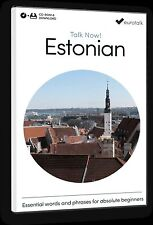 Eurotalk Talk Now Estonian for Beginners - Download option and CD ROM