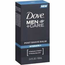 Dove Men+Care Post Shave Balm, Hydrate, 3.4 Ounce, 3 Count