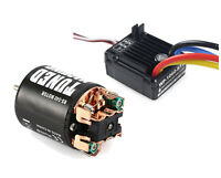 1/10 Rc Car Waterproof Brushed Esc Motor For Tamiya Lunchbox Grasshopper Frog