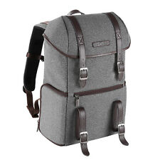 K&F Concept DSLR SLR Camera Backpack Bag Case for Canon Nikon Sony Waterproof