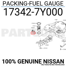 173427Y000 Genuine Nissan PACKING-FUEL GAUGE 17342-7Y000