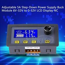 Adjustable 5A Step-Down Power Supply Buck Module 6V-32V to 0-32V LCD Display coi