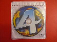 Fantastic 4 Four DVD FS Disc ONLY Bilingual
