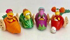 Fraggle Rock McDonald's Jim Henson Complete Set 1988 Vegetable Cars happy meal