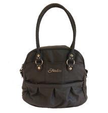 Frauline Caroline Bowler Noir Black Carry On Luggage Purse
