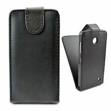 Magnetic Flip Cell Phone Leather Skin Pouch Cover Case For Nokia Lumia 630