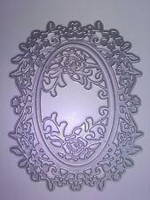 3 Oval Floral de corte Die tarjetas colección de recortes planificador diario de decoración del hogar
