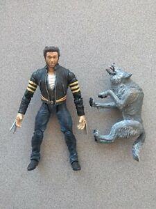 Battle Attack Logan Wolverine X-Men X2 Movie wolf Toy Biz figure Marvel Legends