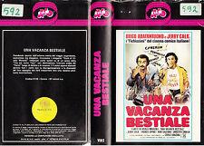 UNA VACANZA BESTIALE (1980) VHS