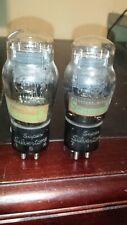 PLATINUM TEST NOS PAIR 45 SUPER SILVERTONE 145 245 345 POWER AMP Tube TV-7 Tests
