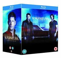 Supernatural: Complete Seasons 1-13 [Blu-ray Box Set Region Free TV Series] NEW