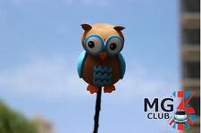 Cete Naughty The owl Antenna Balls Car Aerial Ball Antenna Topper Decor Pen Ball