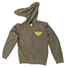 Legend of Zelda Nintendo Hoodie Zip Jacket Cosplay size Large