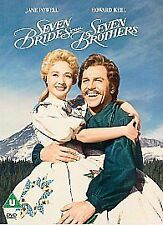 Seven Brides For Seven Brothers (DVD, 2001) BRAND NEW SEALED