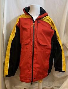 DHL Size: M Zip-Up Hooded Winter Tarmac Reflective Coat Jacket