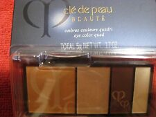 Cle De Peau Beaute Ombres Couleurs Quadri Eye Color Quad 204 refill .17oz/5g NIB