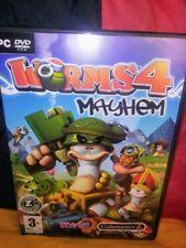 Worms 4: Mayhem PC DVD-ROM