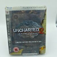 Uncharted 2 Among Thieves Steelbook Collectors Sony PlayStation 3 PS3 PAL