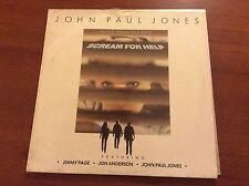 Scream For Help LP Ost John Paul Jones/page! Led Zeppelin Sealed Sigillato M/M