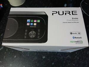 Pure Evoke F3 Bluetooth Speaker With Internet, Digital & FM Radio (original box)