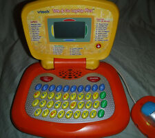 "Vtech Tot & Go Laptop Plush Letters Numbers Games & Music Learning Toy 10""x10"""