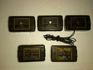 AMERICAN FLYER - 5 Piece Lot of Misc Control Buttons. VINTAGE