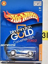 HOT WHEELS 2002 BLOOMINGTON GOLD CORVETTES USA CORVETTE SR-2 BLUE