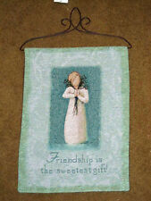 Willow Tree ~ Angel of Friendship Tapestry Bannerette Wall Hanging