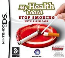 BNIB SEALED  NINTENDO DS/DSL/DSi/3DS MY HEALTH COACH STOP SMOKING ALLEN CARR