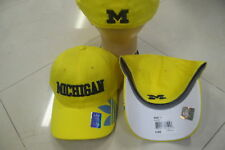 NCAA Michigan Wolverines Adidas Flex Fit Adult Sized Hat Cap NEW