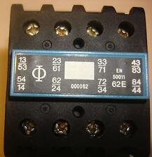 KRAUS & NAIMER 120 VAC CONTACTOR S1500 B120/0062  RELAY NEW STOCK