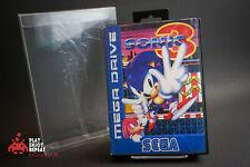 Sonic 3 CIB Sega Mega Drive Erizo de estilo vintage y retro MEGADRIVE GRATIS UK FRANQUEO