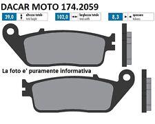 174.2059 PASTILLA DE FRENO ORIGINAL POLINI KYMCO : GENTE 125 GTi 4V (BF25)