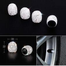 4PCS Splensdid Jeweled Bling Diamond Tire Wheel Stem Valve Cap Cover Car Truck